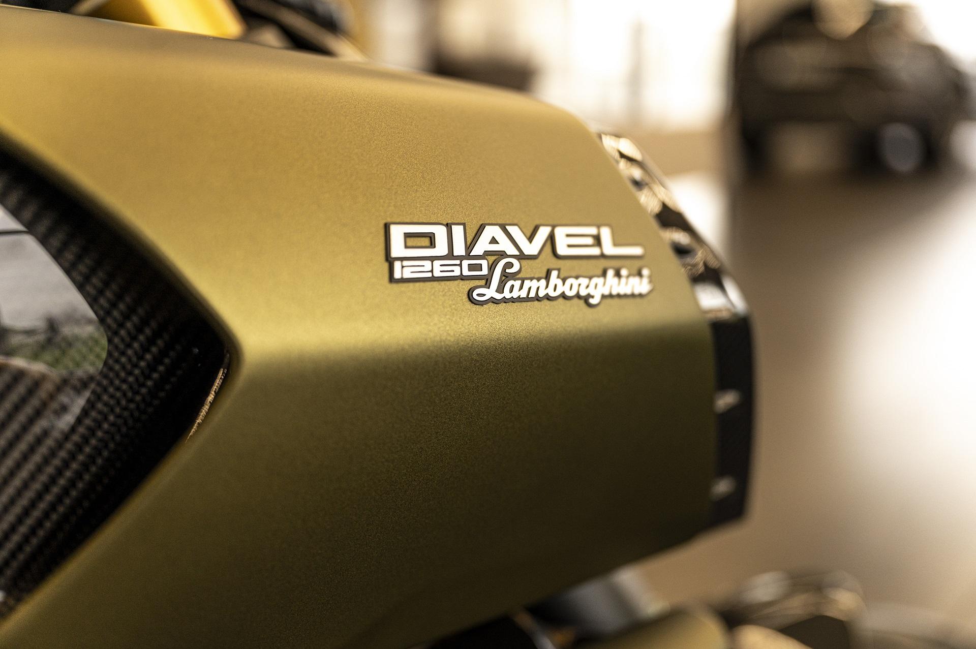 Lamborghini Ducati Diavel 1260