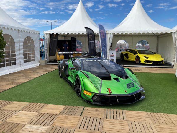 Lamborghini Bordeaux participe à la 26ème édition de Sport & Collection